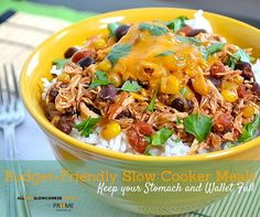 Ground Beef Stew | AllFreeSlowCookerRecipes.com