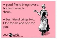 Because sometimes I don't want to share :) #WineQuotes #WineWednesday