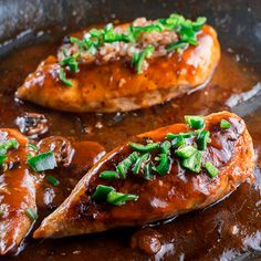Jalapeno Peppered #Chicken Marsala With Brown Rice | Brooklyn Farm Girl #recipes #food