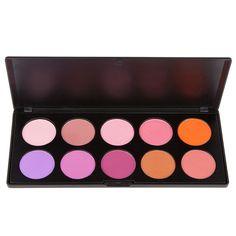 Coastal Scents 10 shade Blush Too Palette $14.95