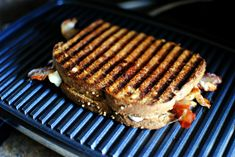 In this breakfast panini, scrambled eggs, crispy bacon and cheese pressed in between whole wheat bread for the ultimate breakfast panini! Breakfast Panini, Breakfast Cereal, Breakfast Recipes, Whole Wheat Bread, Baked Beans, Scrambled Eggs, Protein Foods, Sweet Bread, Fresh Fruit