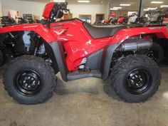 New 2016 Honda FourTrax® Foreman® Rubicon® 4x4 Automatic DCT ATVs For Sale in North Carolina. Nobody likes to get beat up. And we're not talking about some playground bully—we're talking about how some ATVs treat you on a tough trail. Not the Honda FourTrax Foreman Rubicon, though—it's a premium ATV that places a premium on rider comfort. All-day comfort. And in 2016, we have Rubicon models with a wide range of features so you can pick the one that's perfect for you. Every Rubicon uses the…