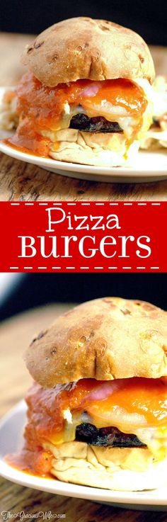 Pepperoni Pizza Cheeseburger Recipe - easy dinner idea recipe perfect for summer and grilling for the whole family. A fun twist on your traditional hamburgers with tasty ingredients including pepperon (Pepperoni Pizza Recipes) Burger Recipes, Grilling Recipes, Beef Recipes, Cooking Recipes, Pizza Recipes, Recipies, Cheeseburger Recipe, Pizza Cheeseburger, Cheeseburger Chowder