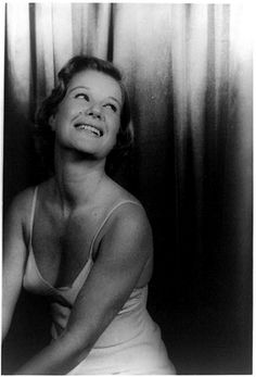 Barbara Bel Geddes in Cat on a Hot Tin Roof. Morosco Theatre, New York City.