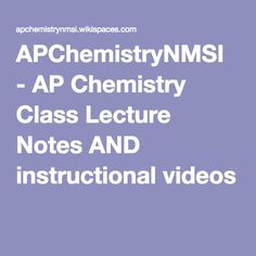 APChemistryNMSI - AP