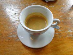 Double espresso @ Restaurant Il Blandford's