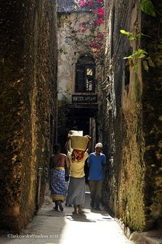 Lamu Old Town by Daniel Laskowski & Luiza, via Flickr