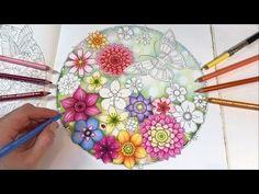 Download video: Secret Garden - Part 1 | Magical Jungle Coloring Book by Johanna Basford