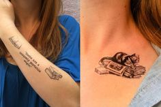 Are you a book lover and a tattoo enthusiast? These book tattoos displayed in the gallery are among some of the best book tattoo designs ever inked! Ankle Tattoos, Forearm Tattoos, Finger Tattoos, Arm Band Tattoo, Leaf Tattoos, Sleeve Tattoos, Latest Tattoo Design, Tattoo Designs, Bookish Tattoos