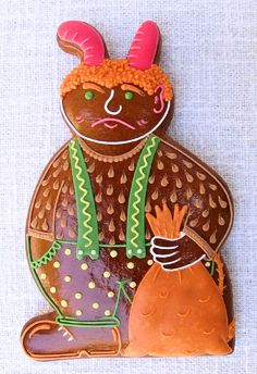 Today we are looking at Moravian and Bohemian gingerbread designs from the Czech Republic. Back home, gingerbread is eaten year round and beautifully decorated cookies are given on all occasions. Gingerbread Cookies, Christmas Cookies, Very Scary, Back Home, Czech Republic, Cookie Decorating, Holiday, Gifts, Devil