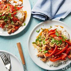No need to call for takeout. This Asian pork and rice dinner can be on the table in just 25 minutes!