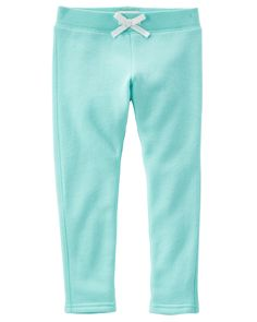 Baby Girl Heritage Fleece Skinny Sweats from OshKosh B'gosh. Shop clothing & accessories from a trusted name in kids, toddlers, and baby clothes. Toddler Leggings, Girls Leggings, Leggings Are Not Pants, Oakley, Baby Girl Bottoms, Skinny Sweats, Girls Fleece, Cute Toddlers, Toddler Girl Outfits