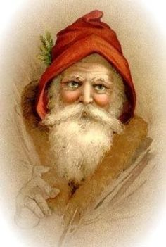 Old Fashioned Christmas Images Images Vintage, Vintage Christmas Images, Old Fashioned Christmas, Christmas Past, Victorian Christmas, Father Christmas, Vintage Cards, Christmas Mantles, Christmas Postcards
