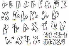 Fun Lettering Styles | Cute Bubble Letter Fonts