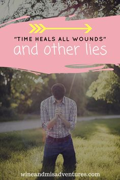 Time doesn't heal all wounds. We all heal in different ways, and saying time will heal us all is ridiculous and unrealistic. Heal in your own way, at your own pace. #healing #mourning #loss