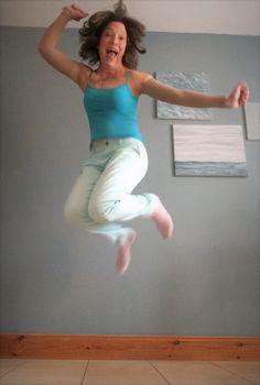 Keto makes me jump for joy!