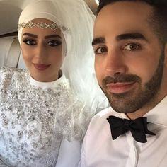 @makeovermaster_emagraovac @hijabsbyrasha #mabrouk to the bride  #thehijabbride #modestbride #muslimbride #modestfashion #muslimfashion