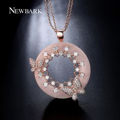 Find More Pendant Necklaces Information about NEWBARK Butterfly Pendant Necklace…