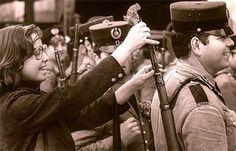 Portugal, 25th of April 1974. The Carnation Revolution (Portuguese: Revolução dos Cravos), ... the end of the dictatorship in Portugal.