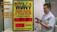 Safety First Auto Count Safety ( OSHA ) Scoreboard