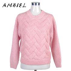 2016 Loose pullovers Sweaters Women's thicker section casual Long-sleeved Knit sweater Christmas Pull femme female slim Warm 329 >>> Vy mozhete nayti boleye podrobnuyu informatsiyu, posetiv ssylku na izobrazheniye.