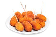 tapas españolas - croquetas de jamon