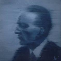 "Saatchi Art Artist DAVIS LISBOA; Painting, ""Marcel Duchamp #4 (Paintings)"" #art"
