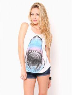 #Ombre #Shark Double Scoop Tank