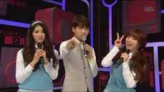 160515 #Lovelyz#Kei#LeeMiJoo#Infinite#NamWooHyun on #Inkigayo