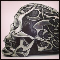 Skull motorcycle helmet www.ironhorsehelmets.com