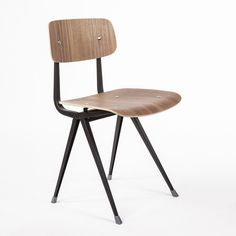 Mid-Century Modern Reproduction Industrial Result Side Chair Inspired by Friso Kramer