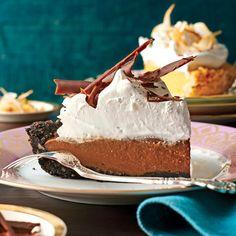 Dazzling Thanksgiving Pies: Mocha-Espresso Cream Pie