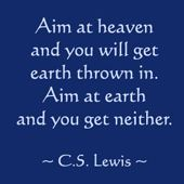 Wisdom and Truth: C.S. Lewis quote