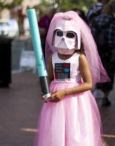 Princess Vader Star Wars Comic Con 2013 #SDCC #cosplay
