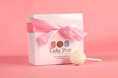 Cute cake pop box