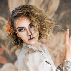 Who is excited for Halloween?!? Check back tomorrow to see all the pictures from my deer photo shoot. I'm obsessed with them! #hairandmakeupbysteph #happyhalloween Photo: @ciara_richardson_photo  Model: @tortwede