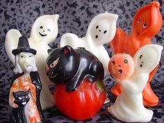 Vintage Gurley Halloween candles
