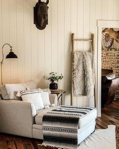 Entryway Bench, Ladder Decor, New Homes, Furniture, Rustic Farmhouse, Home Decor, Design, Videos, Photos
