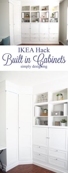 Craft Room Building In Cabinets Part 3