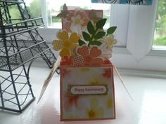 HAPPY ANNIVERSARY by sandras cards - Cards and Paper Crafts at Splitcoaststampers
