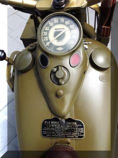1942 World War Two Harley-Davidson WLA