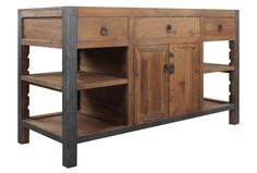 Klein Kitchen Island Bar. Can be buffet. Or entry table