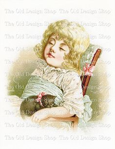 IN DREAMLAND Mary Lathbury Vintage Printable Digital Scan Childrens Image for Cardmaking Mixed Media Graphic Design ETC