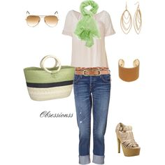 Margarita green, created by obsessionss.polyv...