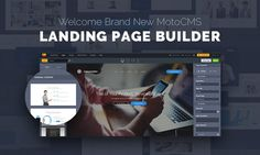 Please Welcome the Brand New MotoCMS Landing Page Builder