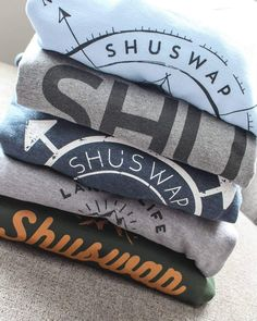 Comfy, cozy, custom Shuswap gear!