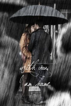 Rain was never so romantic. Jamie Dornan and Dakota Johnson fan art.
