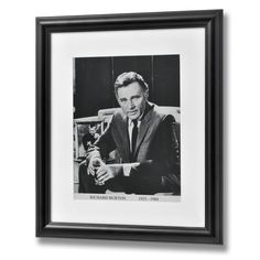 Richard Burton Framed Print