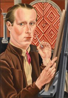 Carel Willink - Zelfportret, 1926. Stedelijk Museum Amsterdam