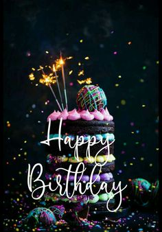 #goodmorning Happy Birthday Greetings Friends, Happy Birthday Wishes Photos, Happy Birthday Art, Happy Birthday Wallpaper, Happy Birthday Celebration, Birthday Blessings, Birthday Wishes Cards, Happy Birthday Messages, Best Happy Birthday Images
